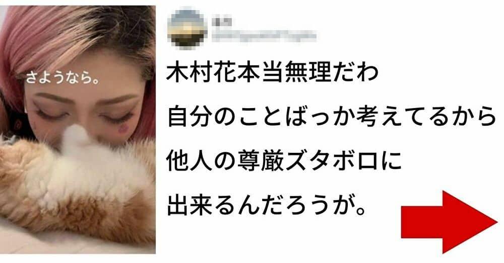 テラス ハウス 木村 花 ツイッター