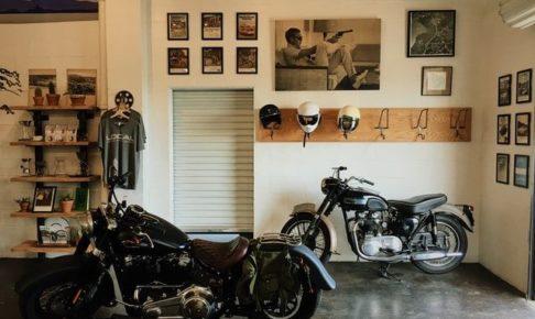 バイク 楽しみ方 屋内